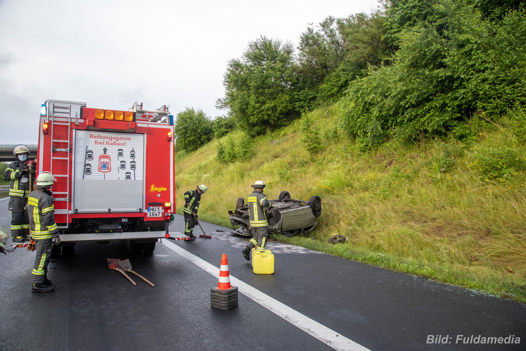 2021-63: 04.07.2021 19:32 Uhr – Verkehrsunfall auf Autobahn